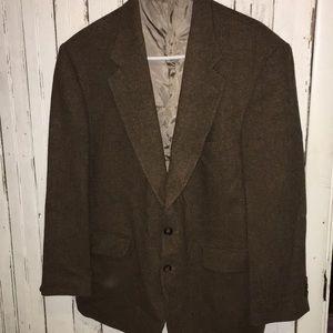 VTG suit jacket wool Barrington 44S Rockabilly
